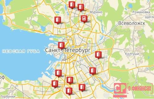 Схема метрополитена санкт петербурга новая