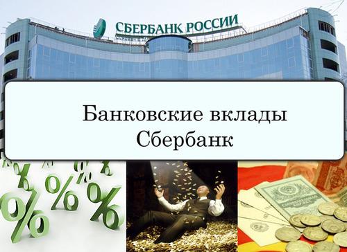Вклады Сбербанка